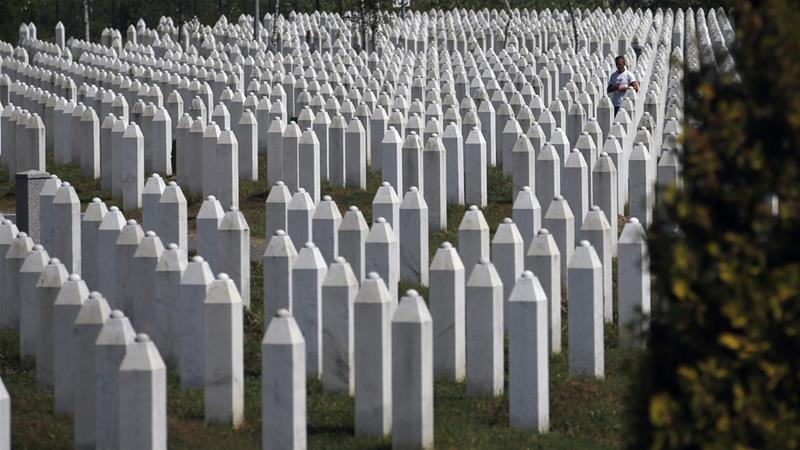 Srebrenica Genocide Memorial, Darko Vojinovic/AP Photo