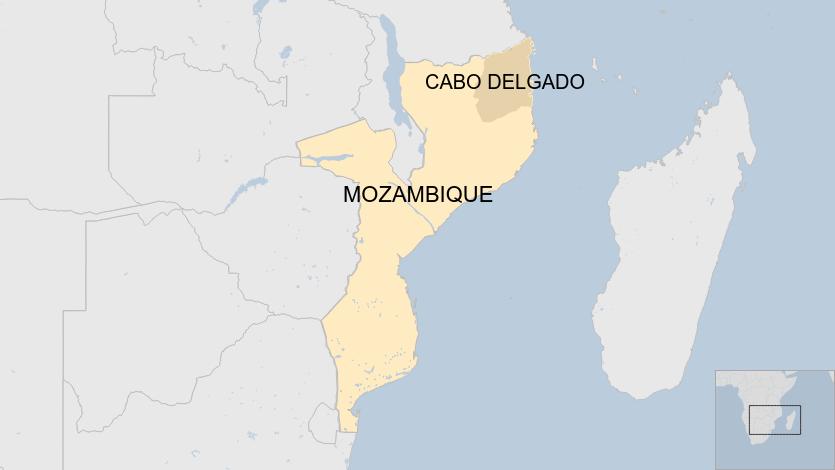 Cabo Delgado Province, Mozambique (BBC News 2020)