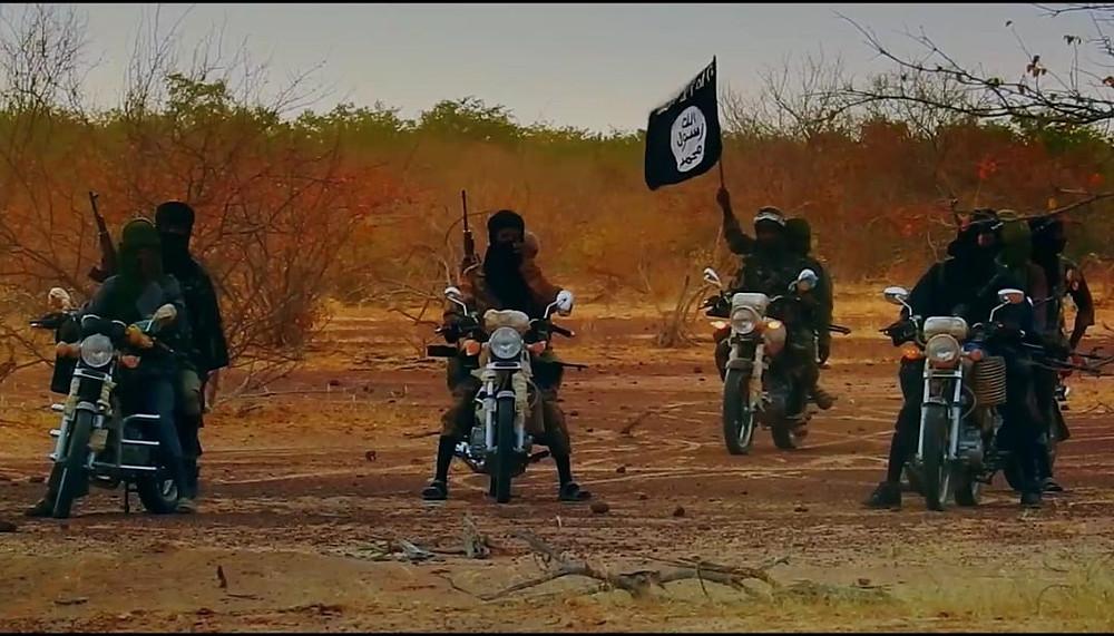 Malian jihadists on motorbikes, International Crisis Group 2019
