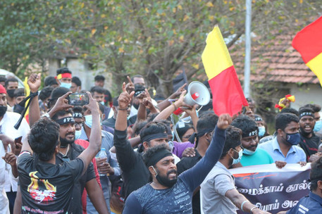 Thousands March for Justice in Sri Lanka, Despite Ban