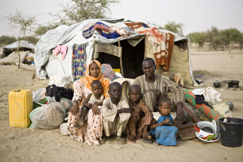 Nigerian Refugees in Niger, UNHCR/Hélène Caux