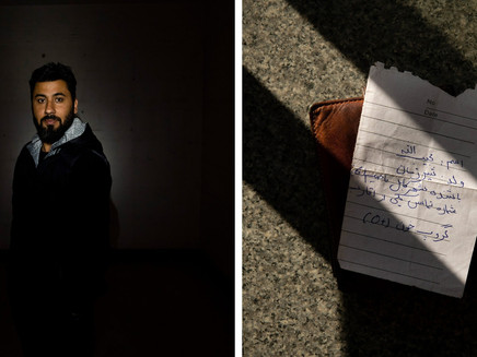 'I Could Just Vanish': In Kabul, Pocket Notes to Prevent Anonymous Death