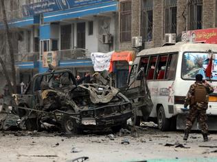 Bomb kills female Afghan doctor, gunmen kill 7 workers: Officials