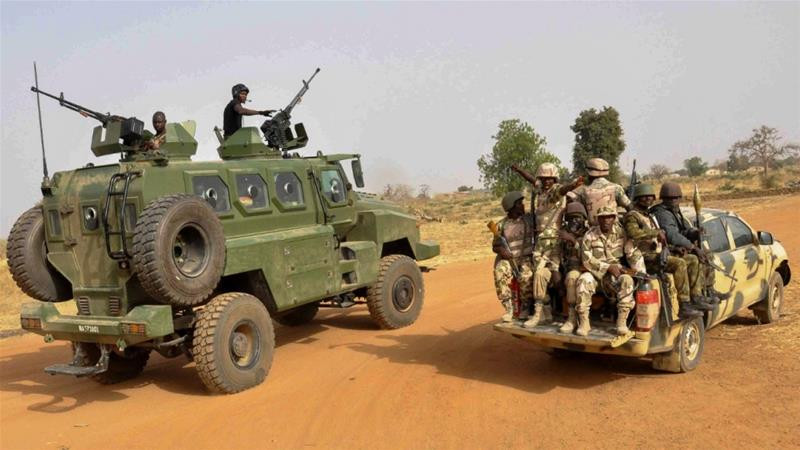 Nigerian Soldiers, Photo Source: Al Jazeera 2020