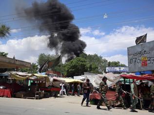 UN concerned Afghan violence aimed at derailing peace talks