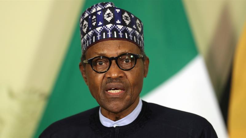 Buhari, Siphiwe Sibeko/Reuters (Al Jazeera) 2019