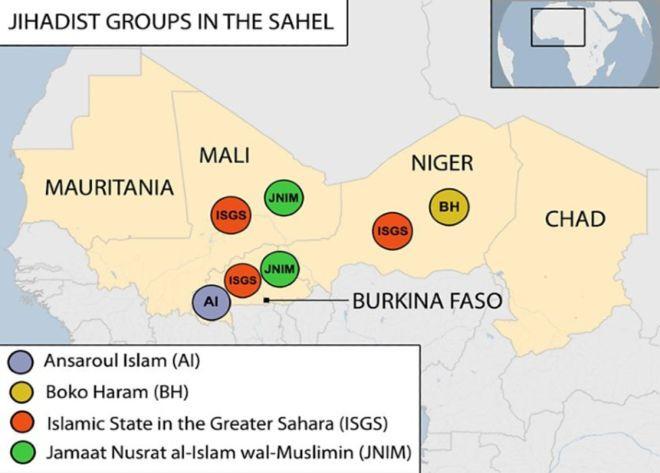 Africa's Sahel becomes latest al-Qaeda-IS battleground, Mina Al-Lami (BBC Monitoring)