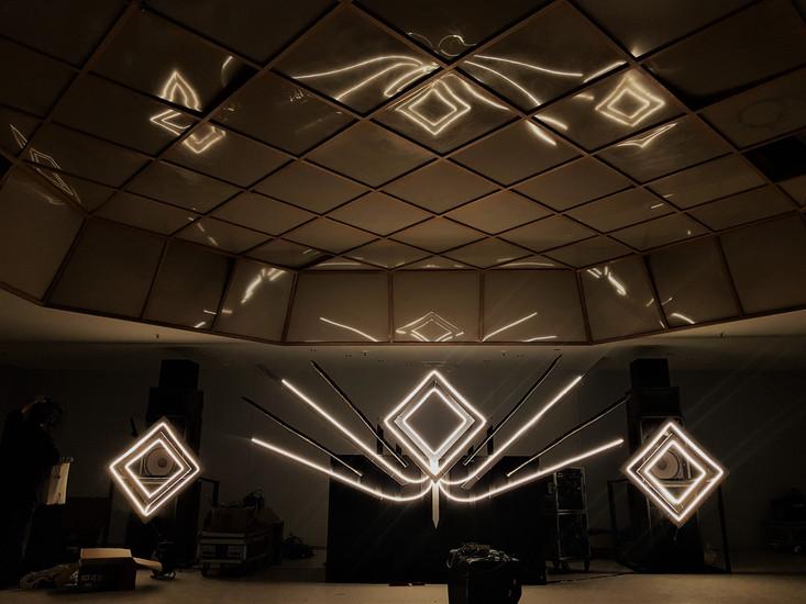 Scénographie DJ Booth Soirée Scorpio 4