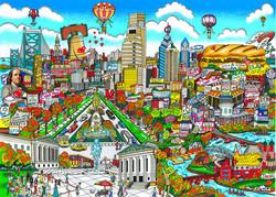 fazzino-cityscape-art-philadelphia-with-love
