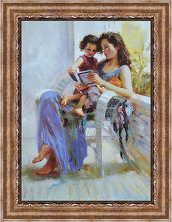 Pino with child