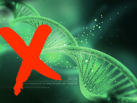 Depicting DNA: when left isn't entirely right