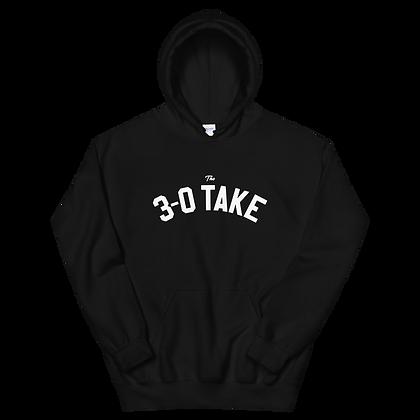 The 3-0 Take Wordmark Hoodie