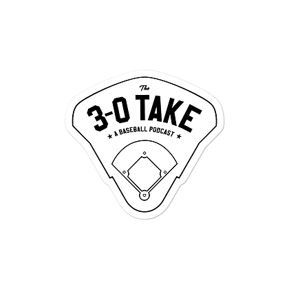 The 3-0 Take Ballpark Decal
