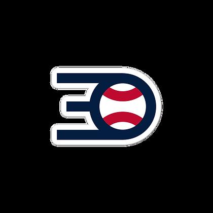 The 3-0 Take Logo Sticker
