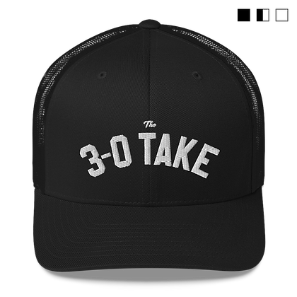 The 3-0 Take Mesh Back Hat