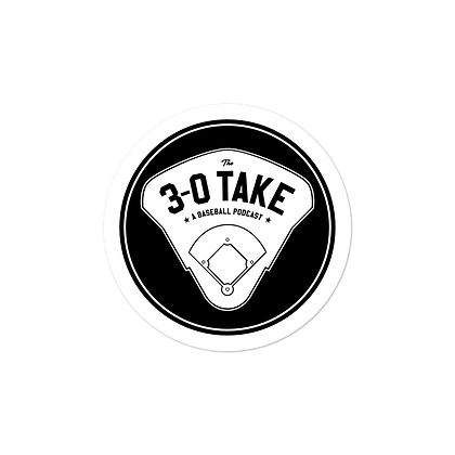 The 3-0 Take Round Decal