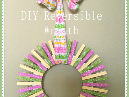 How about an easy DIY wreath for spring?