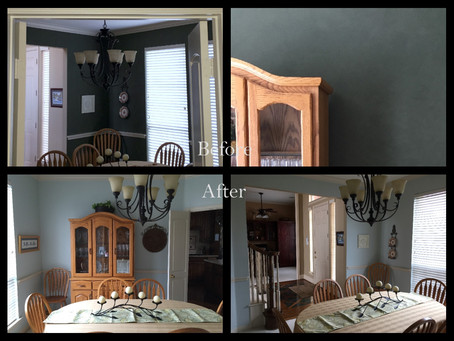 Dining Room redo: walls