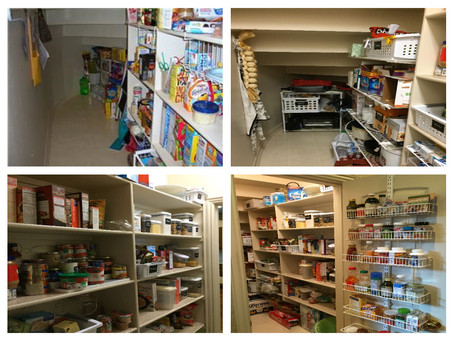 Let's look at projects around the house-pantry edition.