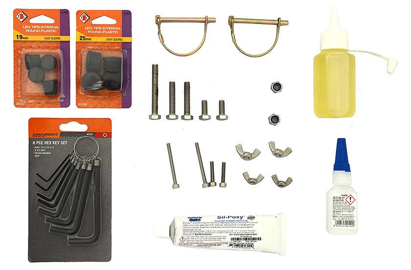 Spare Parts & Repair Kit