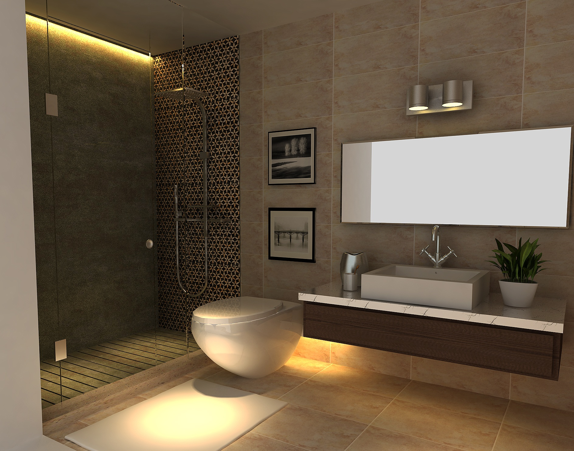 Show unit interior design