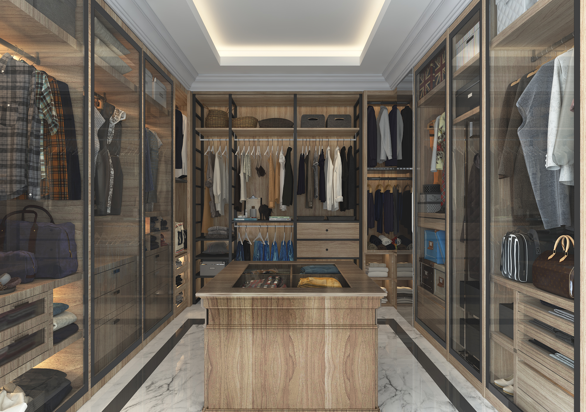 C11_Walk In Wardrobe View