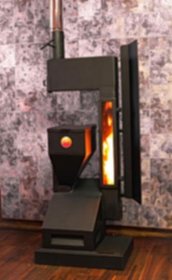 Estufa Llamica modelo AIXA