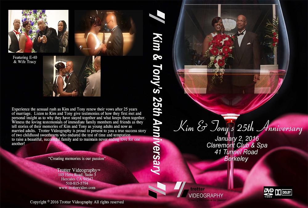 25th Anniversary DVD Cover