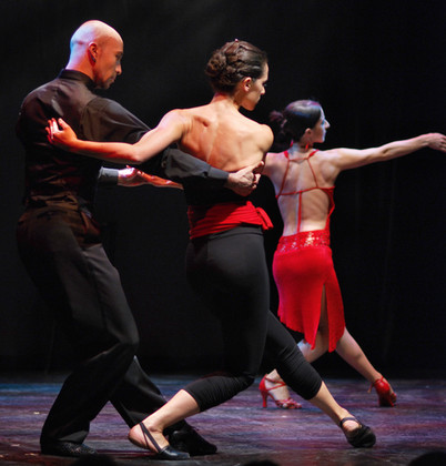Tango trio - part of show Tango Intimo