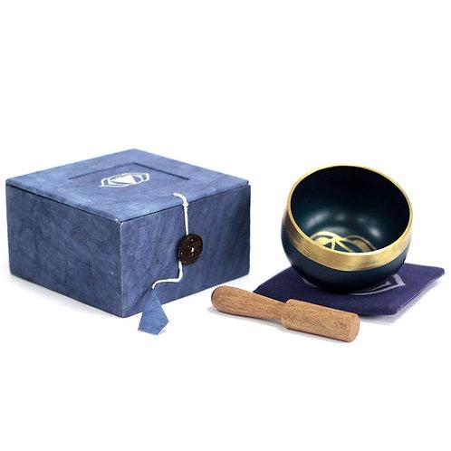 Third Eye Chakra Singing Bowl Gift Set - Size 8x8x5 (cm)