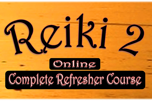 Reiki 2 Complete Video and Ebook Refresher Course Online