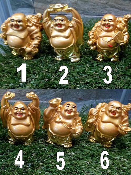 Laughing Buddha Figurines - Resin