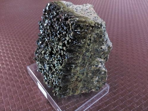 Epidot- Crystal (Gemstone) - Large approx. 7 x 8 x 3.5 (cm)