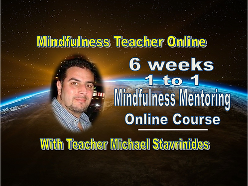 6 weeks 1 to 1 Mindfulness Mentoring Online Course with Michael Stavrinides