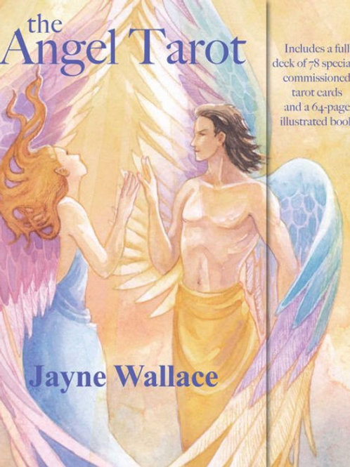 The Angel Tarot Cards by Jayne Wallace