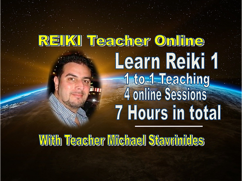 LEARN REIKI 1 - (4 Sessions) 1 to 1 Teaching and Mentoring Online Course