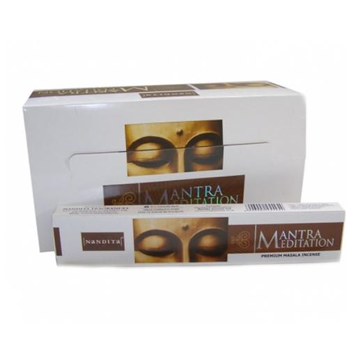 Mantra Meditation Premium Incense Sticks 15g - (approx 15 sticks)