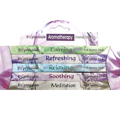 Expression Variety Incense Sticks Gift Packs - Aromatherapy