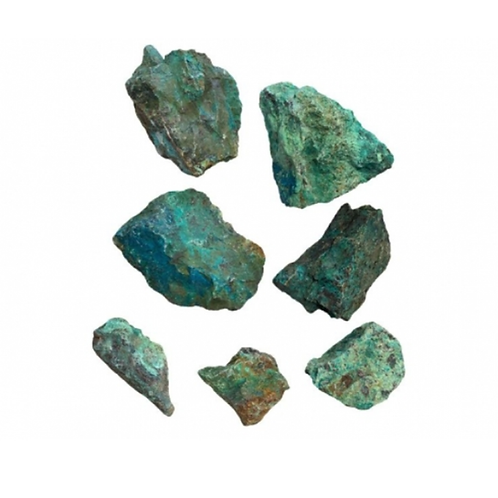 Chrysocolla Rough crystal - Size 50mm x 60mm (approximately)