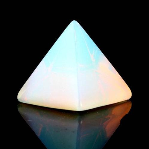 Opal Crystal Pyramid - Size 40mm x 40mm x 40mm