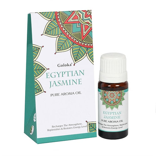 EGYPTIAN JASMINE AROMA FRAGRANCE OIL - 10ml