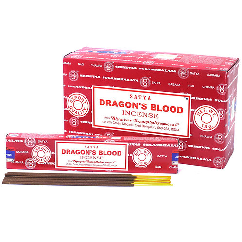 Dragon Blood Satya Incense sticks - 15gm