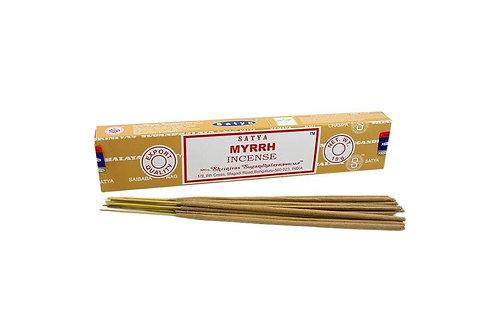 Myrrh Satya Incense sticks - 15gm