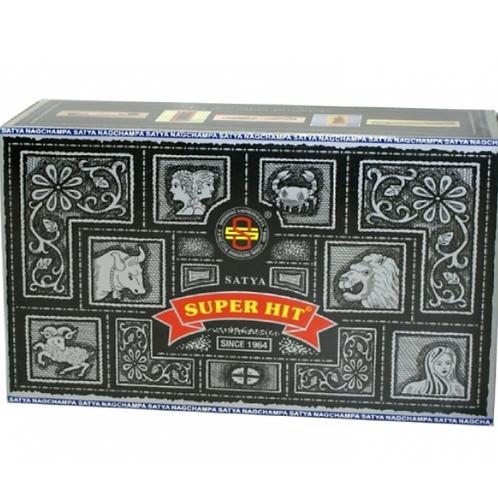 Satya Super Hit fragrance Incense Sticks 15gms - (approx 15 sticks)