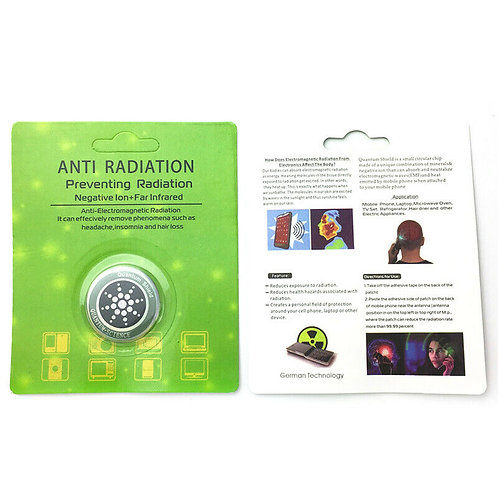 EMF and EMR Protection Stickers For Mobiles - Tablets - Laptops - ETC...
