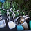 Thumbnail: Crystal gemstones on a keyring - 12 different crystals to choose from