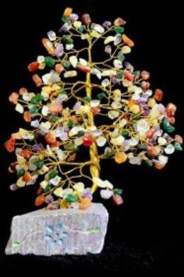 Mixed Crystal Tree - (XLarge) 320 Stones