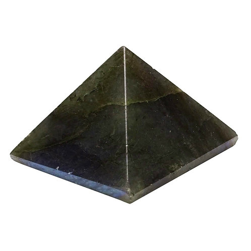 Extra Large Labradorite Crystal Pyramid 60mm - 60mm