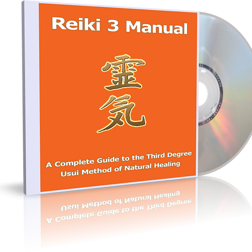 Reiki 1, 2 and 3 audio book manuals - MP3