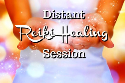 3 x Reiki distant healing session - 45 minutes each